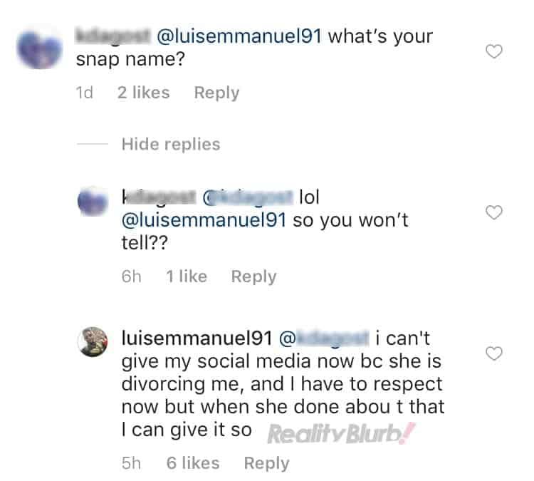luis instagram post