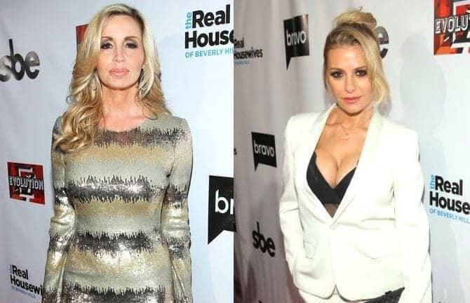 rhobh camille grammer vs dorit kemsley