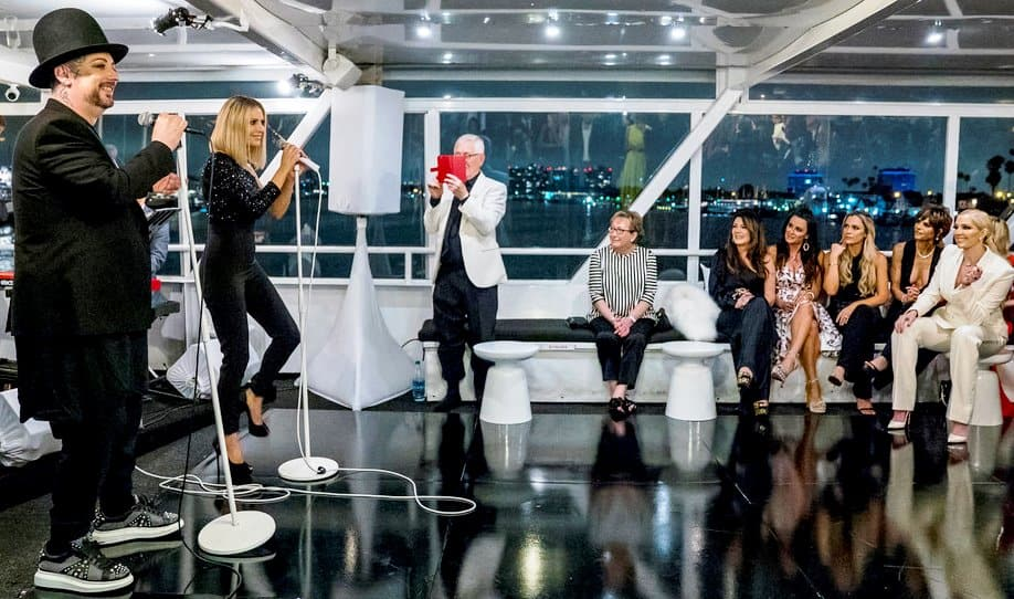 RHOBH Recap Dorit Kemsley Singing Boy George