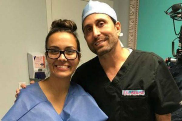 Briana DeJesus and Dr. Miami