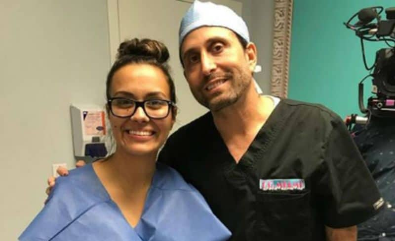 Briana DeJesus and Dr. Miami