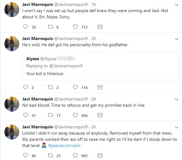 javi tweets