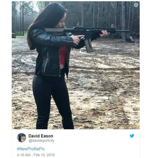 jenelle evans poses with guns