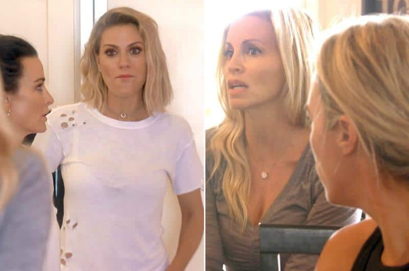 rhobh recap that was weird dorit and camille