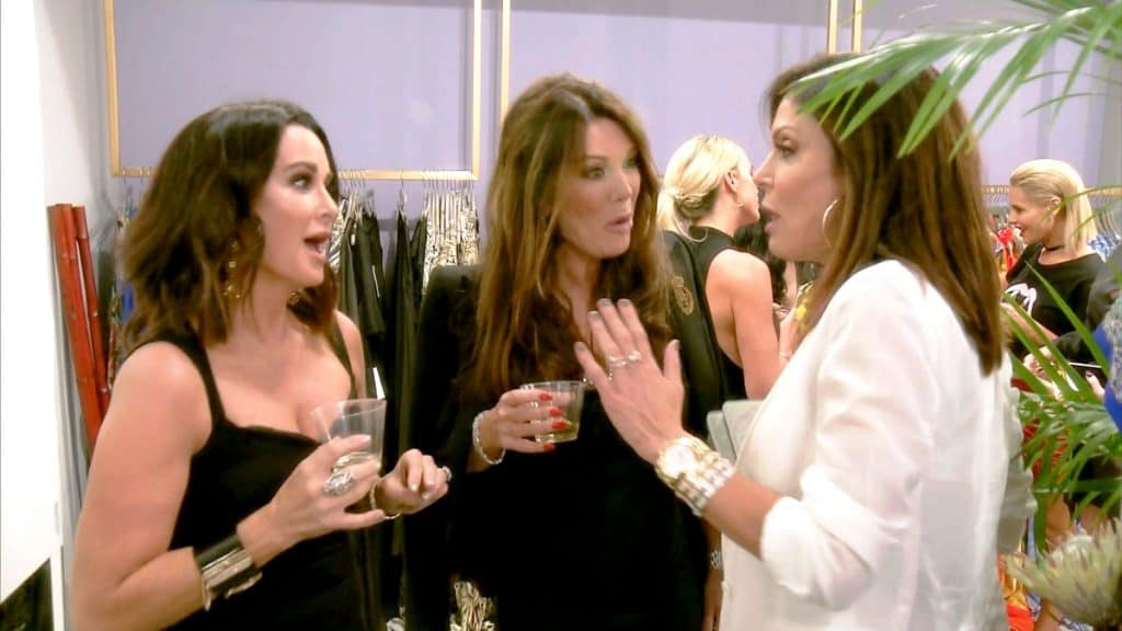 Real Housewives of Beverly Hills recap thank you thuck you Bethenny frankel Kyle Richards Lisa Vanderpump