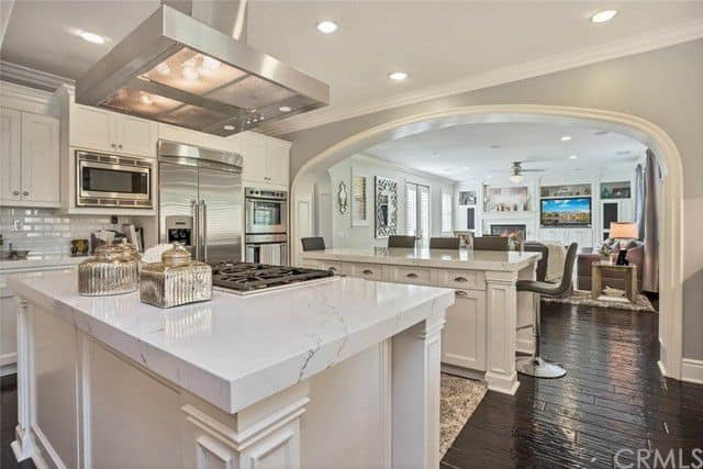 tamra judge home for rent kitchen