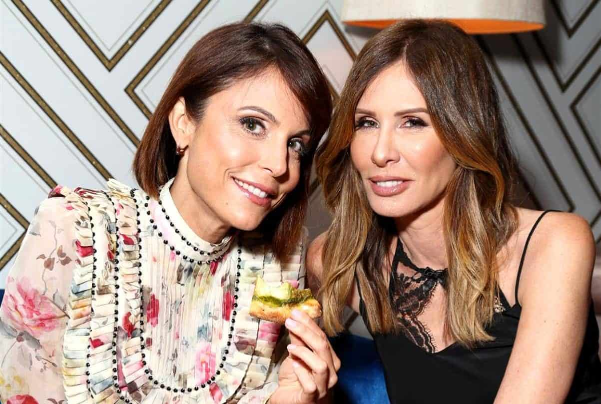 RHONY Bethenny Frankel and Carole Radziwill feud