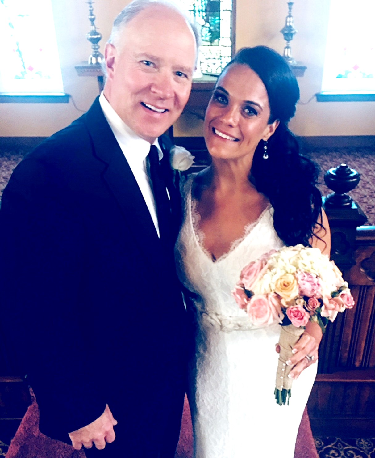 Brooks Ayers Married Christy Lindeman Wedding
