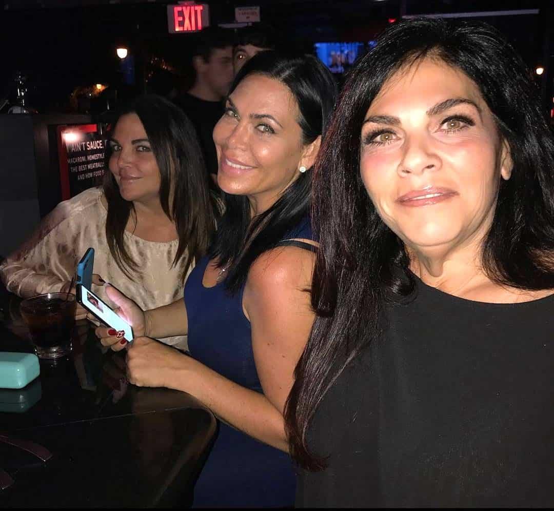 Renee Graziano sisters Lana Graziano Zanococchio and Jennifer Graziano