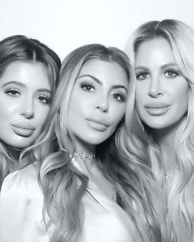 brielle biermann larsa pippen kim zolciak