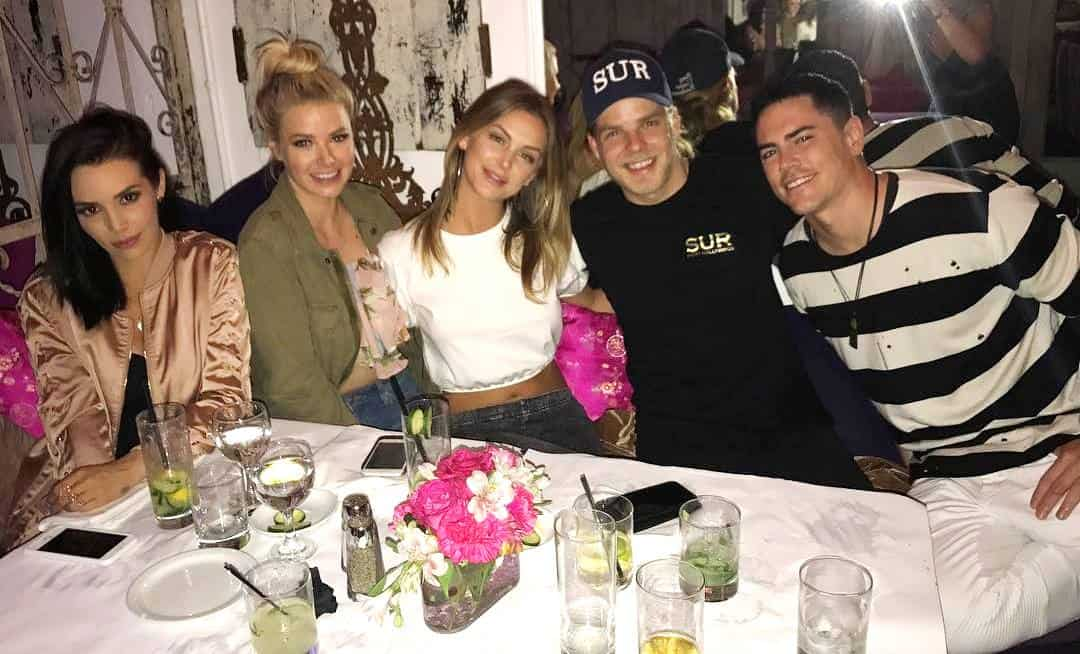 jeremy madix with vanderpump rules cast