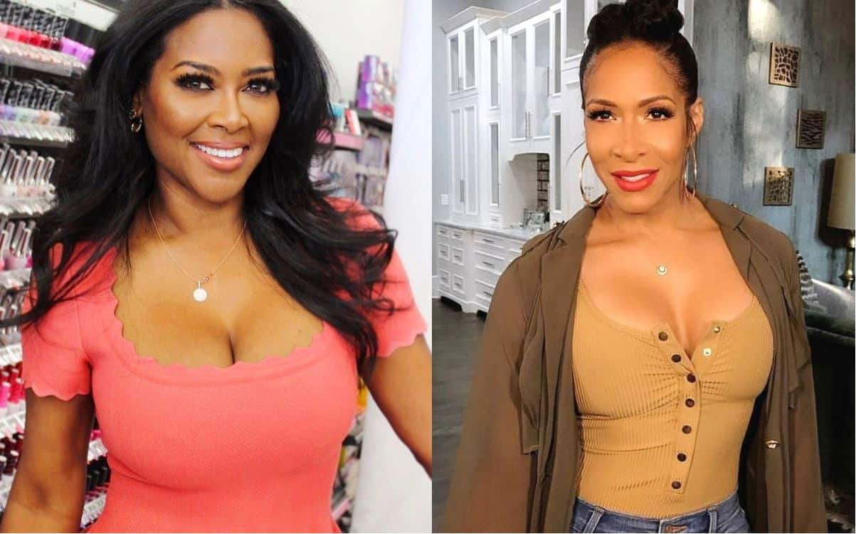 rhoa kenya moore slams sheree whitfield