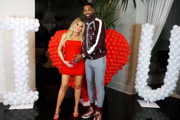 pregnant khloe kardashian boyfriend tristan thompson 2018