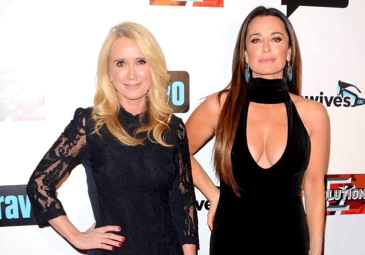 RHOBH Kim Richards and Kyle Richards Feud Update