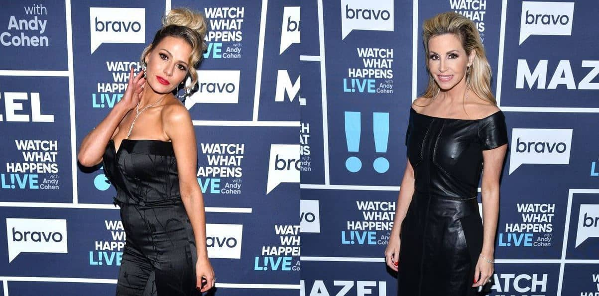 RHOBH Dorit Kemsley and Camille Grammer Twitter War