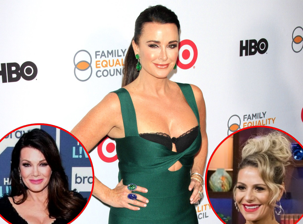 rhobh kyle richards lisa and dorit