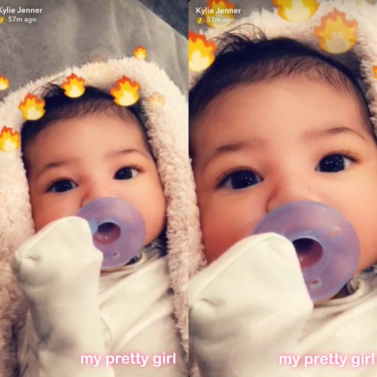 Stormi Webster Photos of Kylie Jenner's baby