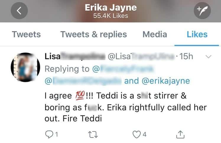 teddi tweet