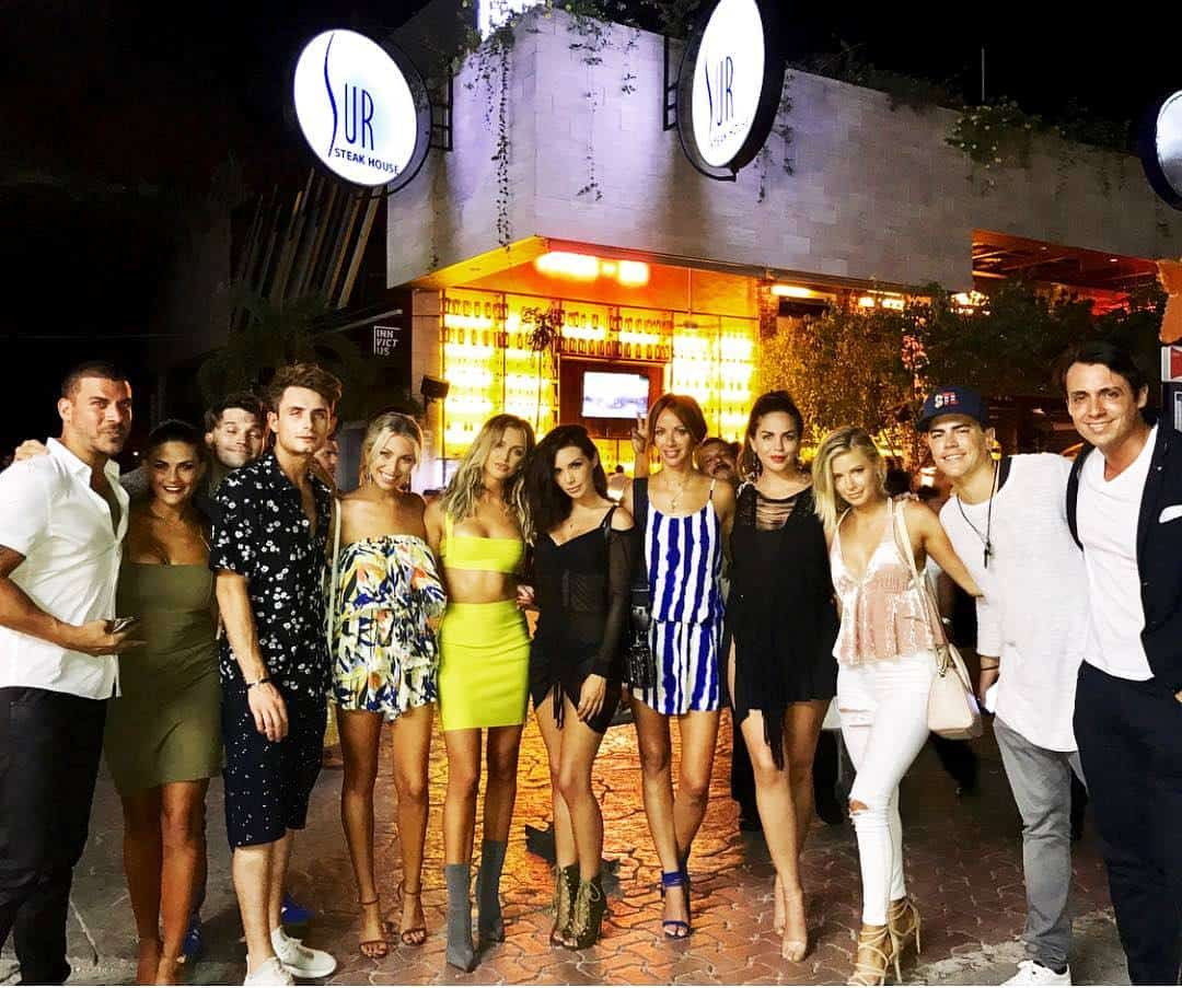 vanderpump rules recap cast in mexico