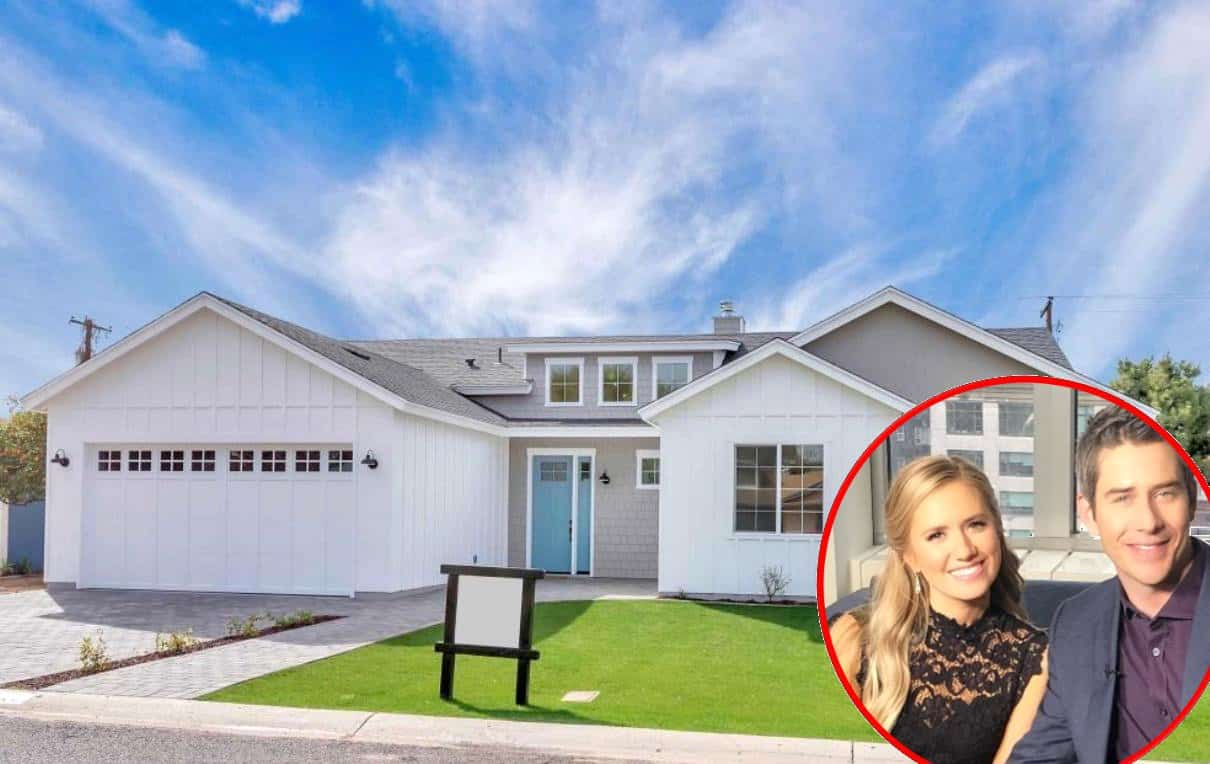 Bachelor's Arie Luyendyk Jr. and Lauren Burnham Buy New Home Photos
