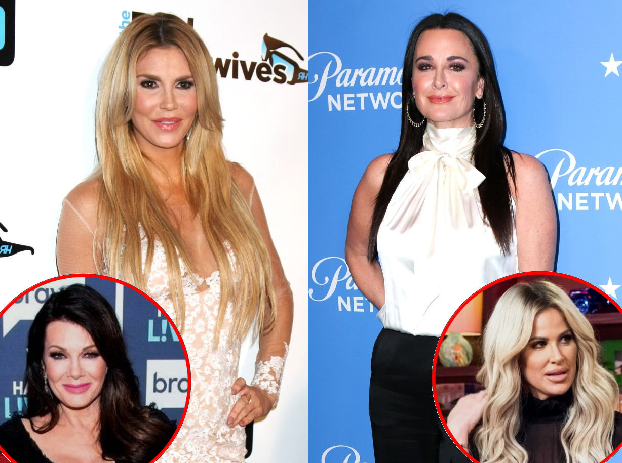 RHOBH Brandi Glanville Kyle Richards Lisa and Kim