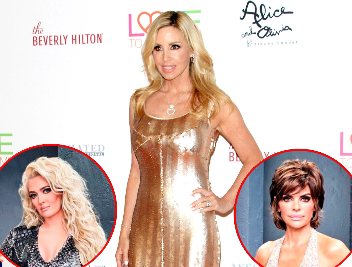 RHOBH Camille Grammer Erika and Rinna