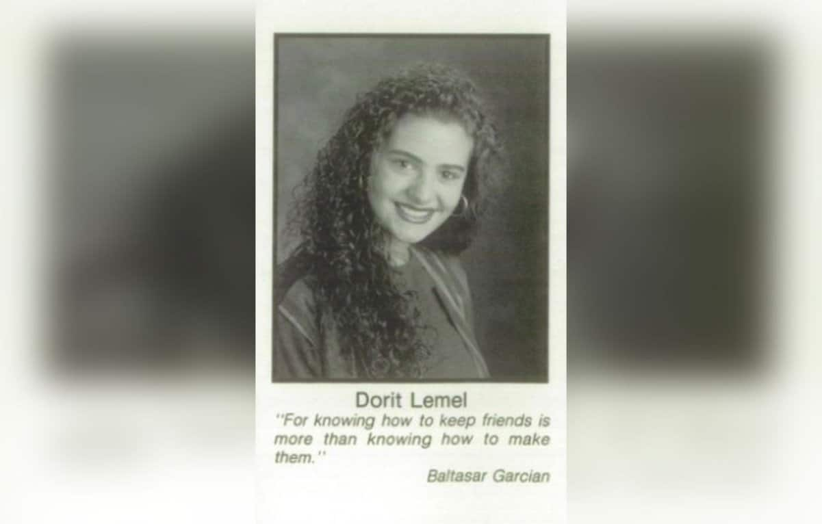 Dorit Kemsley High School Yearbook photo