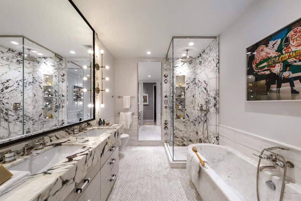 Fredrik Eklund home photos bathroom