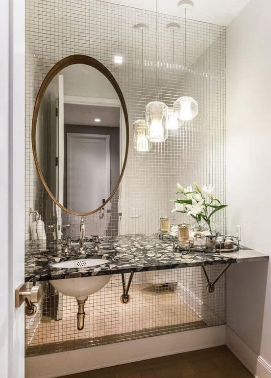 Fredrik Eklund home photos guest bathroom