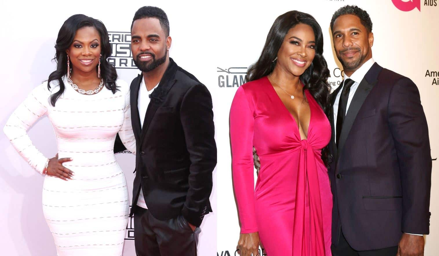 RHOA Kandi Burruss, Todd Tucker and Kenya Moore Marc Daly