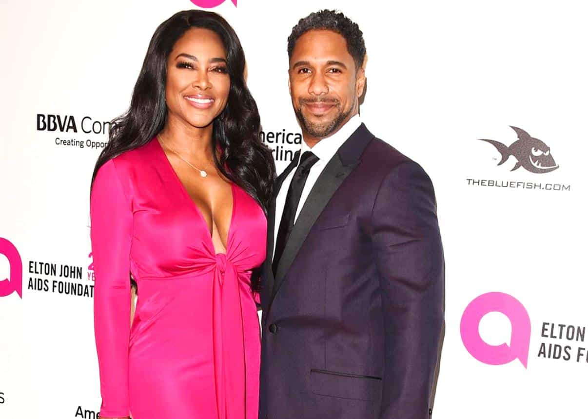 RHOA Star Kenya Moore Is Pregnant Marc Daly