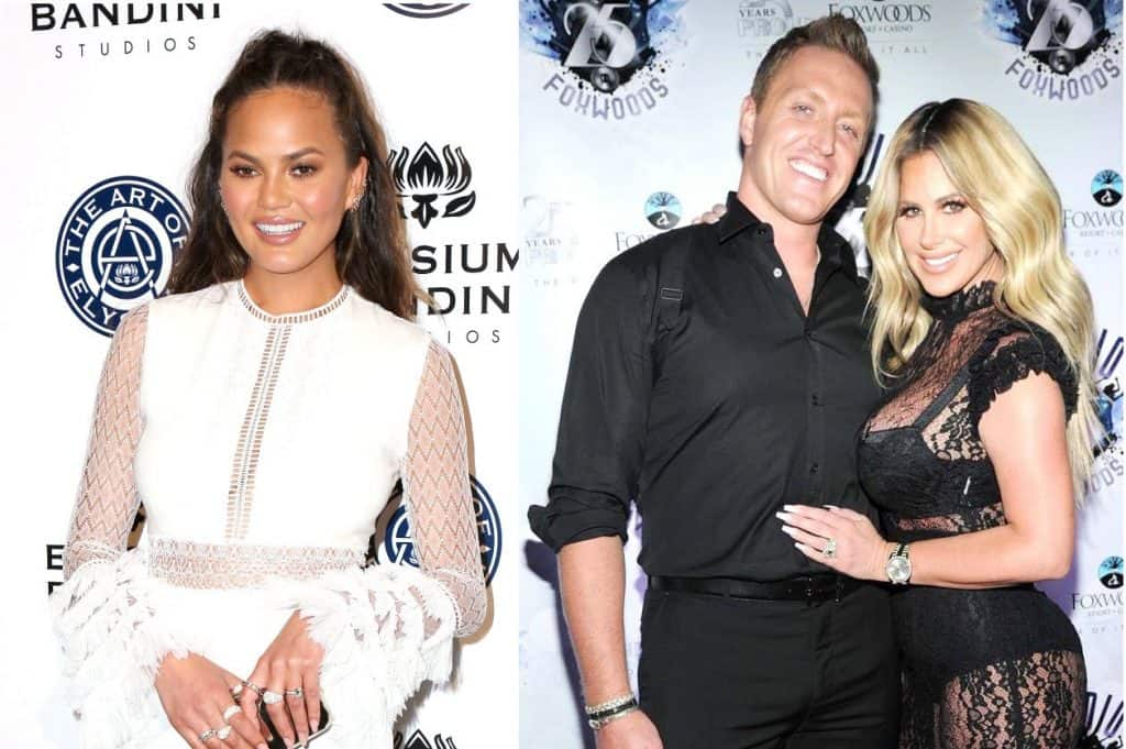 RHOA Kroy Biermann Kim Zolciak and Chrissy Teigen