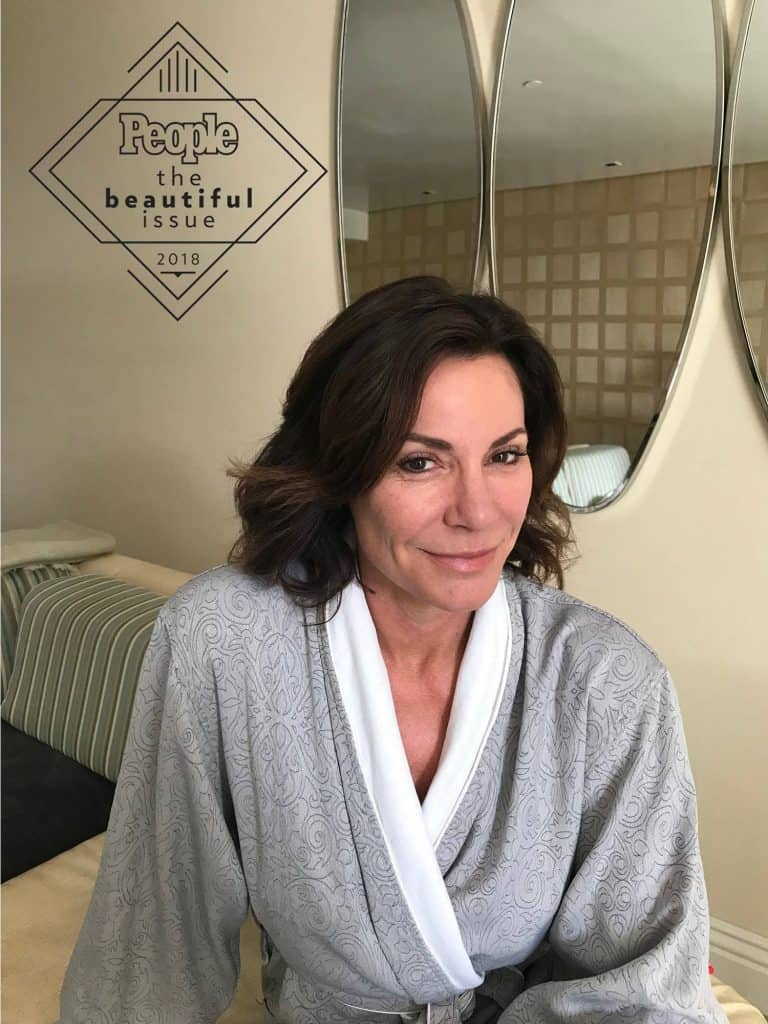 RHONY LuAnn De Lesseps No Make Up Photo