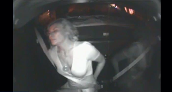 Luann de lesseps arrest in police car