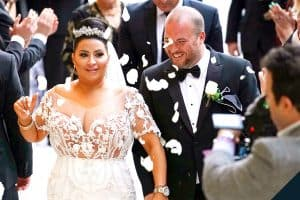 Shahs of Sunset Mercedes MJ Javid and Tommy Feight wedding photos