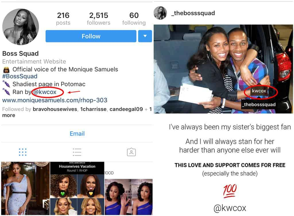 Monique Samuels Fan Page