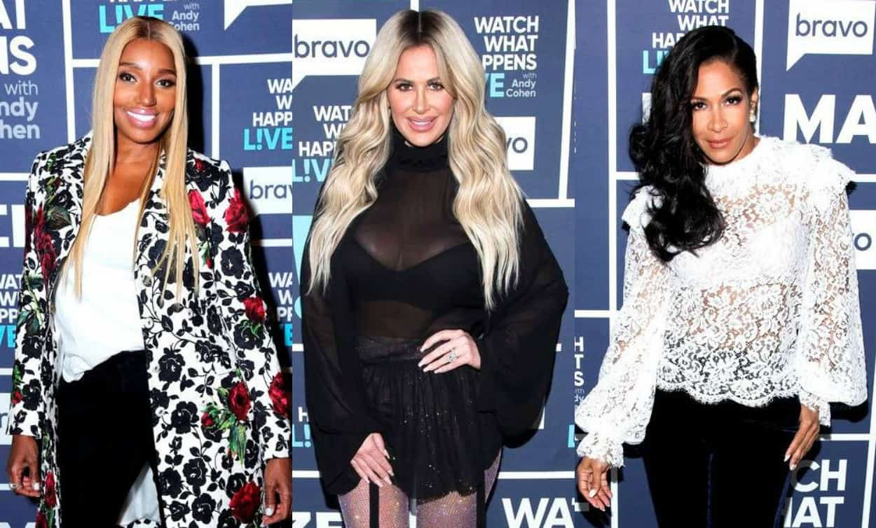RHOA Nene Leakes Kim Zolciak and Sheree Whitfield