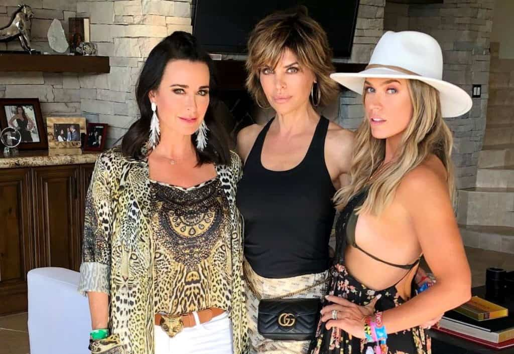 RHOBH Kyle Richards Lisa Rinna and Teddi Mellencamp Coachella