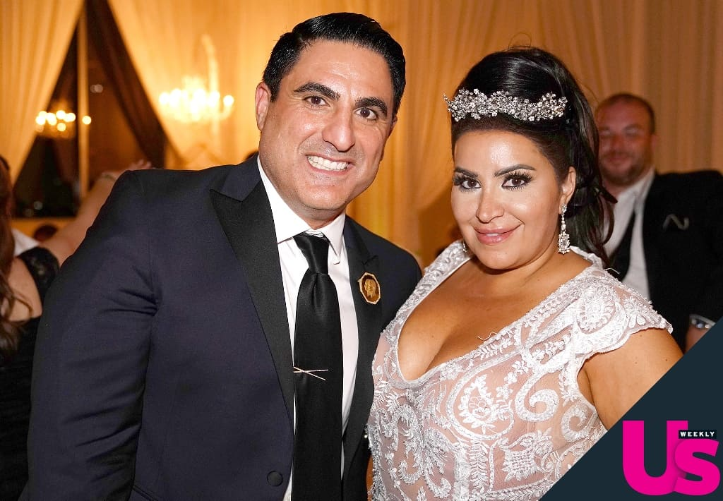 Reza Farahan at MJ's Wedding