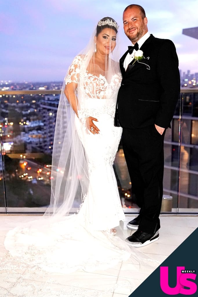 Shahs of Sunset MJ and Tommy Wedding Photo