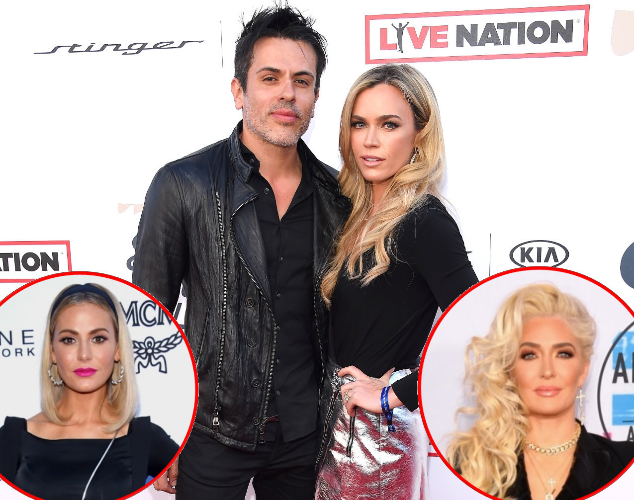 RHOBH Teddi Mellencamp and Edwin Arroyave Dorit and Erika