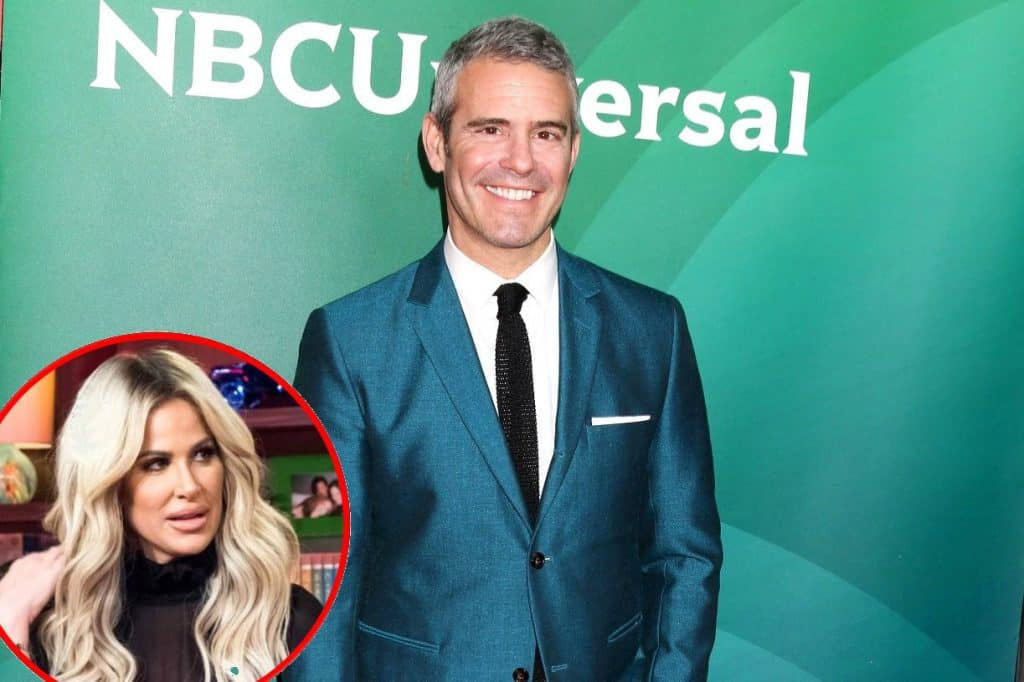 Andy Cohen talk Kim Zolciak
