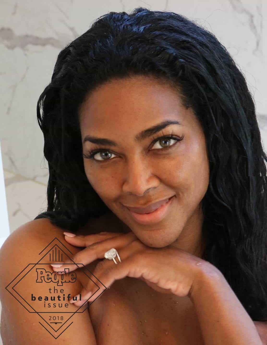 RHOA kenya moore no makeup photo