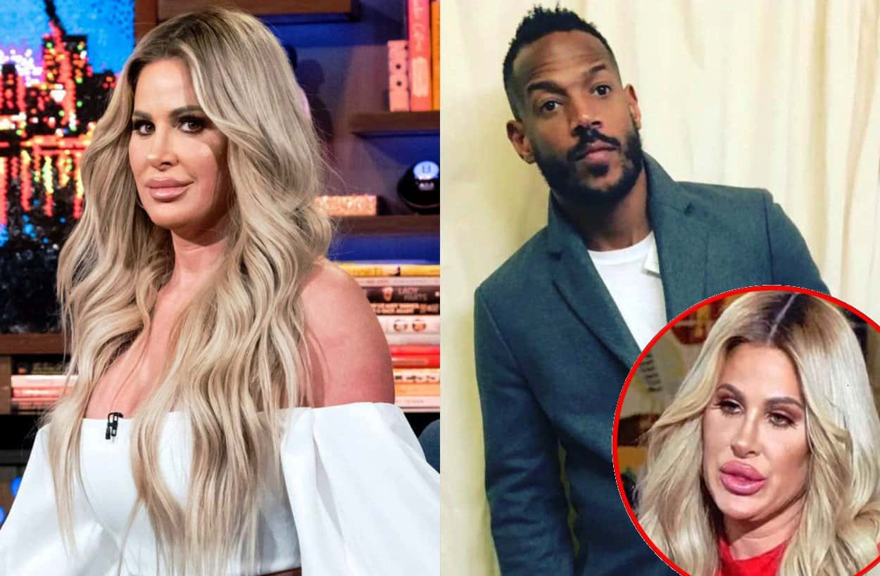 RHOA Marlon Wayans Calls Kim Zolciak White Chicks character