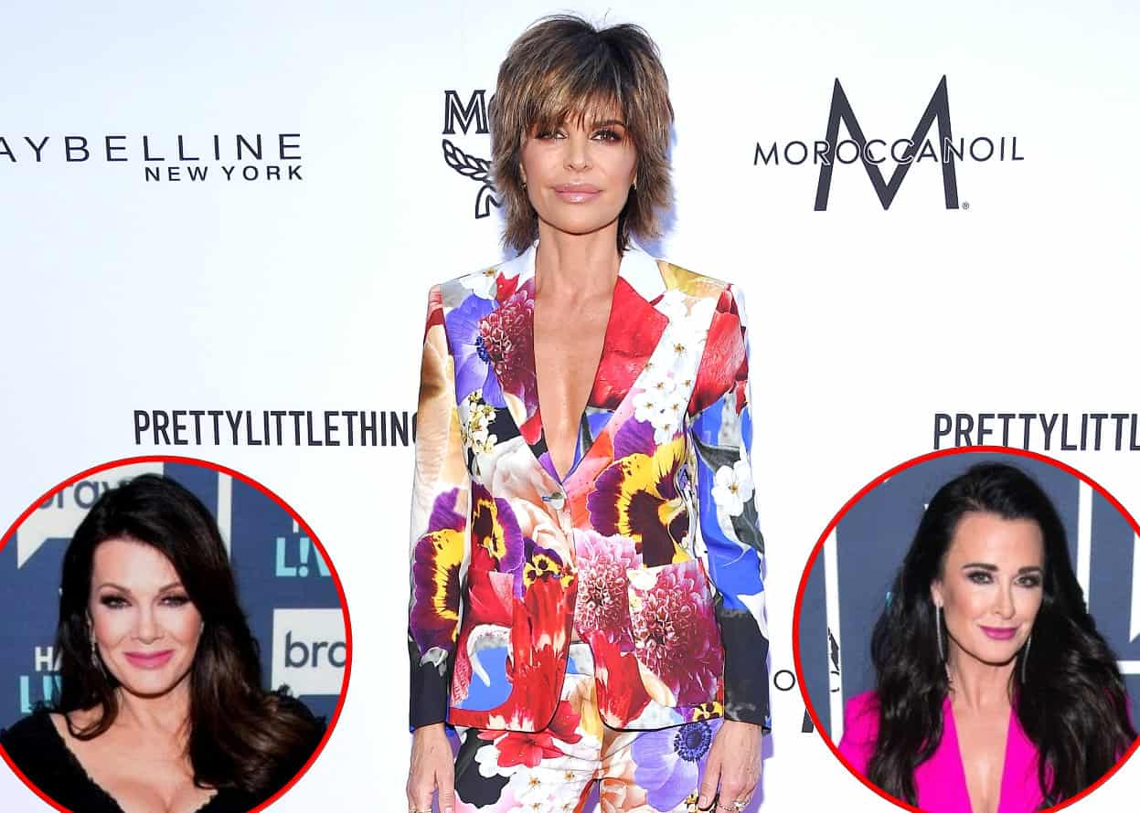 rhobh lisa rinna disses kyle richards and lisa vanderpump