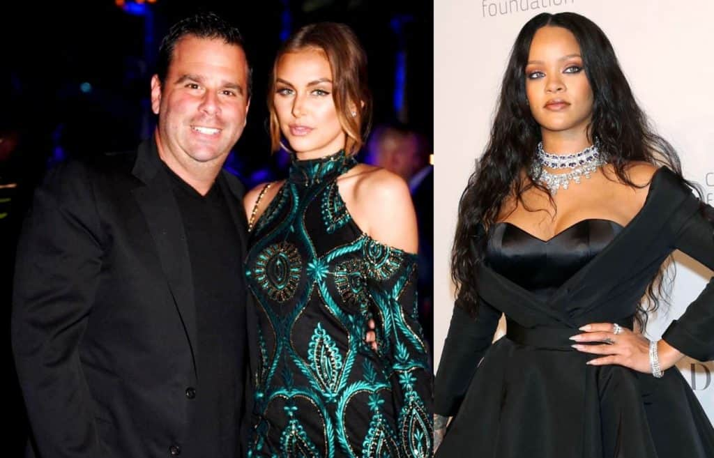 Vanderpump Rules news - Randall Emmett, Lala Kent and Rihanna