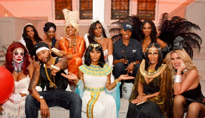 RHOA FINALE RECAP costume party