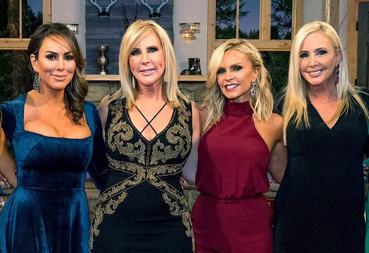 RHOC cast no makeup photos