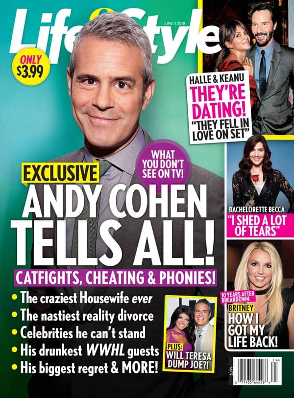 Andy Cohen Life and Style cover