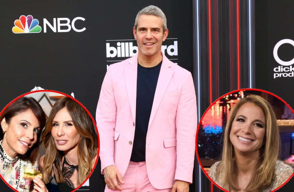 Andy Cohen Talks Carole & Bethenny Feud and Jill Zarin